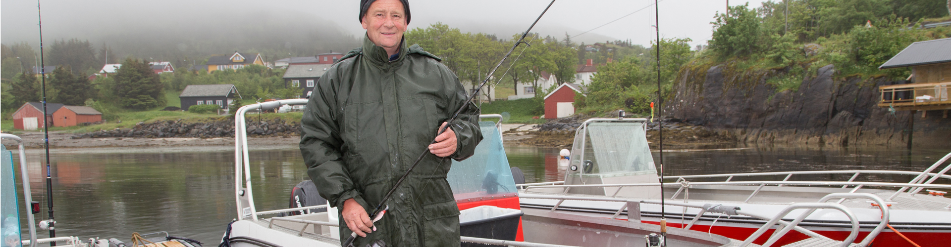 sjøfiske og båtutleie